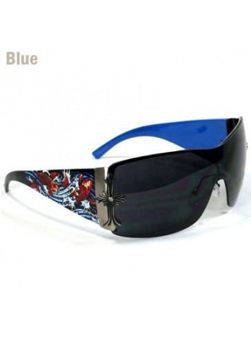 Exotic Tattoo Print Sunglasses SSM3640A