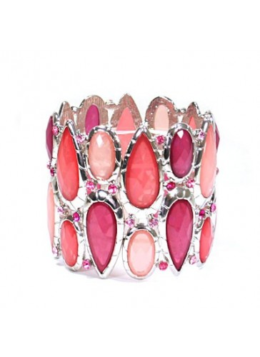 BH1415 Pink costume fashion bracelet