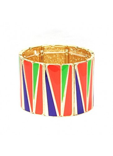 BH1491 Orange contemporary style stretch fashion bracelet