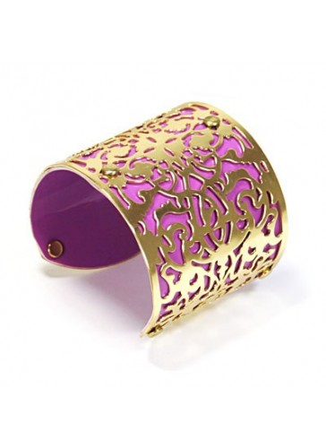 BH1478 Purple tone fashion bangle