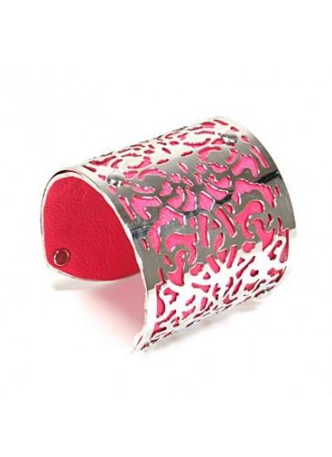 BH1478 Pink tone fashion bangle