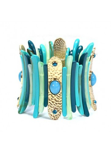 BH0158 Turquoise color fashion stretch bracelet