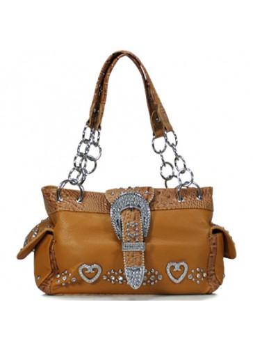 P8085 Western style belt buckle handbags