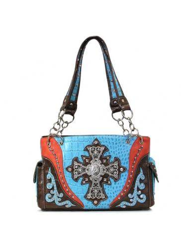 PSCG2847 Western Style Cross Handbags