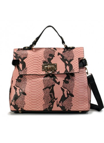 PHB3505 Faux Animal Print handbags