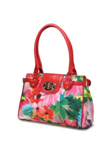 P122188  Fashion flower print handbags