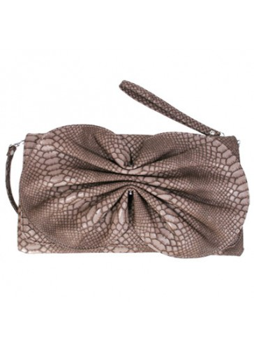 P2811 C Fashion ribbon clutch purses