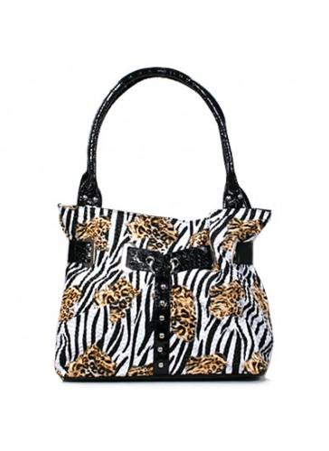 P113  Animal Print Bags