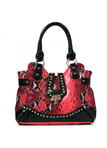 P4054 Animal Print Fashion Handbags