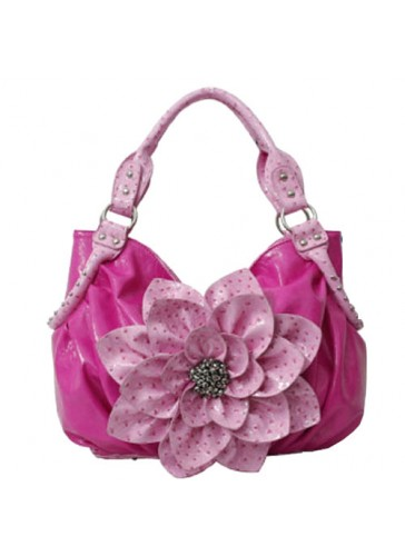 PQ4802 Fashion Flower Handbags