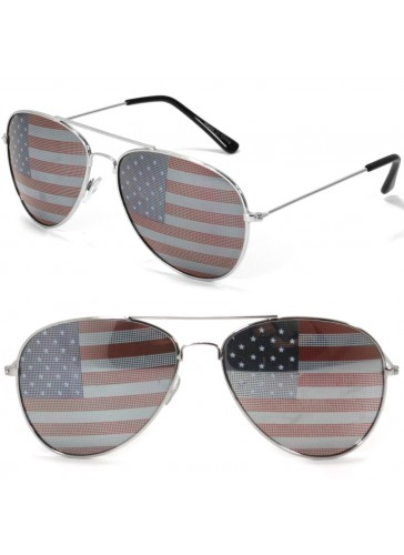 SS8201 American Flag Sunglasses