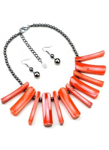N3460OR Celebrity Inspired Designer Necklace