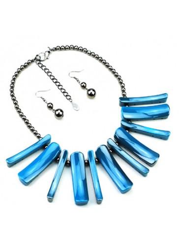 N3460TQ Celebrity Inspired Designer Necklace