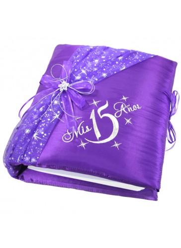 Quinceanera Photo Album Guest Book Kneeling Tiara Pillow Bible Q3096