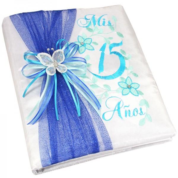 Quinceanera Photo Album Guest Book Kneeling Tiara Pillow Bible Q3099