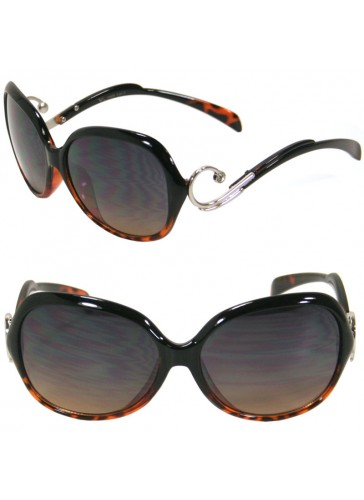 Womens Hot Curly Arm Celebrity Sunglasses SA2908