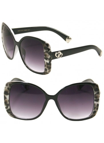 Classic Ladies Large Butterfly Sunglasses SA90022