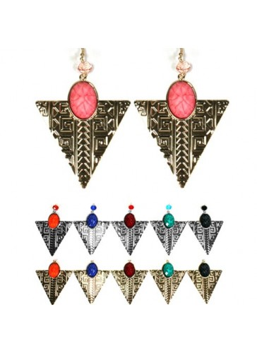 EM1756 Dozen pack fashion earrings