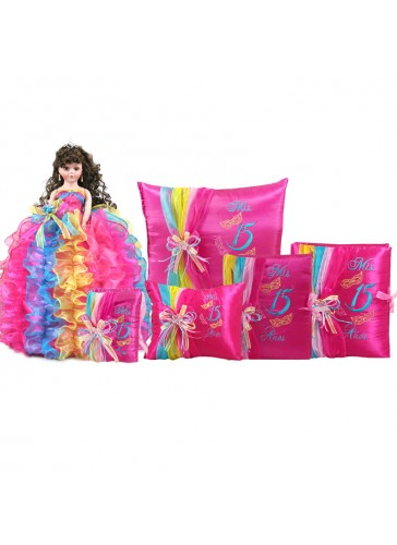 Quinceanera Doll Set Q1055